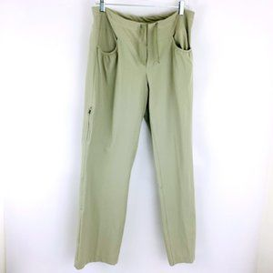 Mountain Hardwear Nylon Cargo Zip Pocket Water Resistant UV Protect Hiking Pants